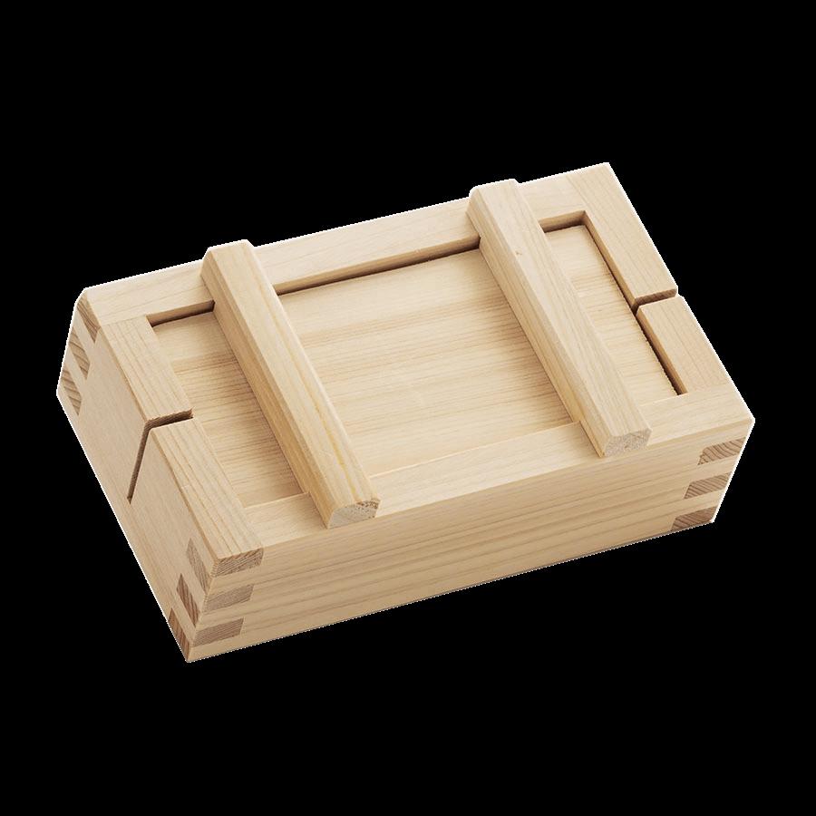 Large rectangular sushi mold