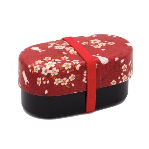 bento box chiba red