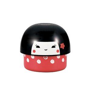 Bento Box Kinoko Kokeshi Rossa 480 ml