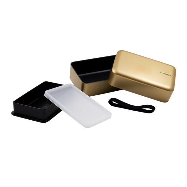 Bento Box Kumamoto compact gold 900 ml-bis
