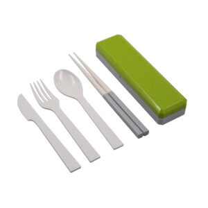 Posate – bachette Go Out verde acido
