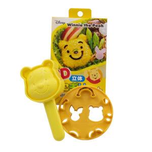 Set Stampi Winnie the Pooh per riso – formaggio – salumi